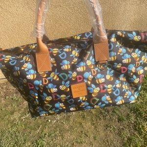 DOONEY and BOURKE black large tote